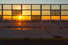 Aéroport abandonné Images stock
