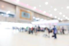 Aéroport abstrait de tache floue Photographie stock libre de droits