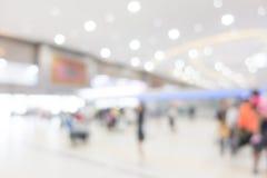 Aéroport abstrait de tache floue Images libres de droits