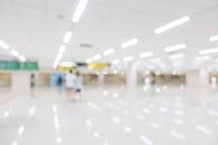 Aéroport abstrait de tache floue Image libre de droits