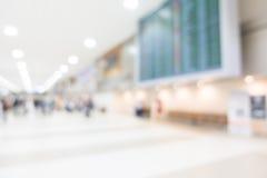 Aéroport abstrait de tache floue Image stock