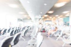 Aéroport abstrait de tache floue Photo libre de droits