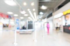 Aéroport abstrait de tache floue Photos libres de droits