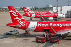Aéroport Air Asia de Bangkok Image stock