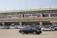Aéroport AirTrain de JFK à New York Images stock