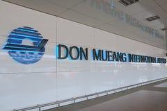 Aéroport Bangkok Thaïlande de Don Mueang Image libre de droits
