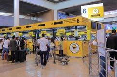 Aéroport Bangkok Thaïlande de Don Mueang d'air de NOK Images libres de droits