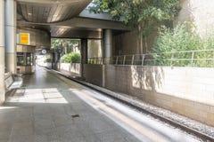 Aéroport Ben Gurion de gare ferroviaire l'israel Photographie stock