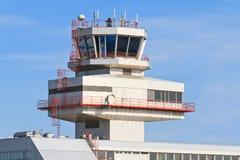 Aéroport bleu de Linz Danube (LNZ), Autriche Photographie stock libre de droits