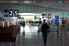 Aéroport Charles de Gaulle - Paris Image stock