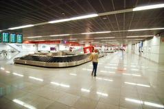 Aéroport Chopin à Varsovie Images libres de droits