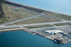 Aéroport d'île de Toronto Images stock