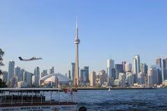 Aéroport d'île de Toronto, Canada Image libre de droits