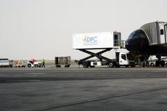 Aéroport d'Abu Dhabi Photo stock