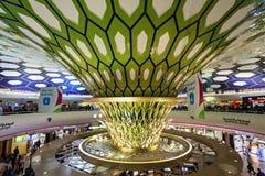 Aéroport d'Abu Dhabi Image stock
