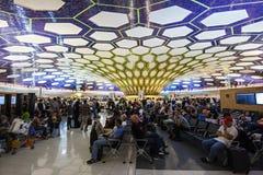Aéroport d'Abu Dhabi Photographie stock libre de droits