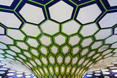 Aéroport d'Abu Dhabi Images libres de droits