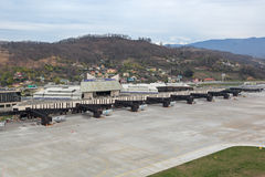 Aéroport d'Adler Photos stock