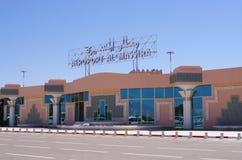 Aéroport d'Agadir, Maroc Photos stock