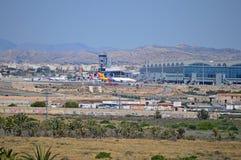 Aéroport d'Alicante Photo stock