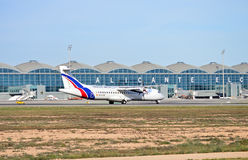Aéroport d'Alicante Image libre de droits