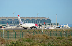 Aéroport d'Alicante Image stock