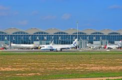 Aéroport d'Alicante Elche Photo libre de droits