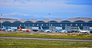 Aéroport d'Alicante Elche Images stock