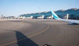 Aéroport d'Alicante, Espagne Images libres de droits