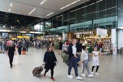 Aéroport d'Amsterdam Image libre de droits