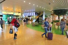 Aéroport d'Amsterdam Image stock