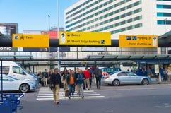 Aéroport d'Amsterdam Schiphol Image stock