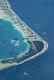 Aéroport d'atoll Image libre de droits