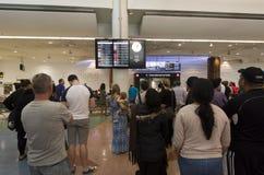 Aéroport d'Auckland - Nouvelle-Zélande Photos libres de droits
