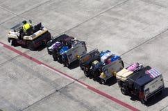 Aéroport d'Auckland - Nouvelle-Zélande Image stock