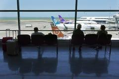 Aéroport d'Auckland - Nouvelle-Zélande Photographie stock