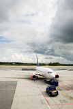 Aéroport d'avion Photo libre de droits