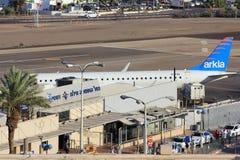Aéroport d'Eilat, Israël Photographie stock