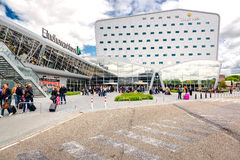 Aéroport d'Eindhoven Images libres de droits