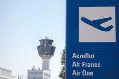 Aéroport d'Eleftherios Venizelos Photographie stock