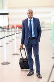 Aéroport d'homme d'affaires en voyage Photos libres de droits