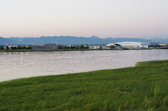Aéroport d'hydravion images stock