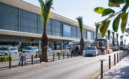 Aéroport d'Ibiza Photographie stock libre de droits