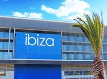 Aéroport d'Ibiza Image stock