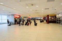 Aéroport d'intérieur de Prague Photographie stock libre de droits