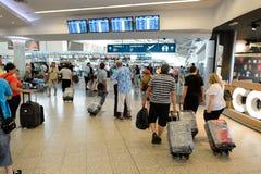 Aéroport d'intérieur de Prague Image libre de droits