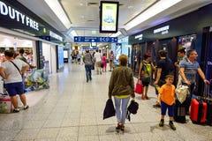 Aéroport d'intérieur de Prague Photo libre de droits
