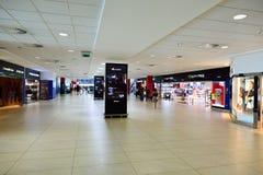 Aéroport d'intérieur de Prague Photos libres de droits