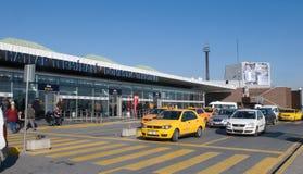 Aéroport d'Istanbul Atatürk Photographie stock libre de droits