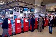 Aéroport d'Istanbul Atatürk Photo stock